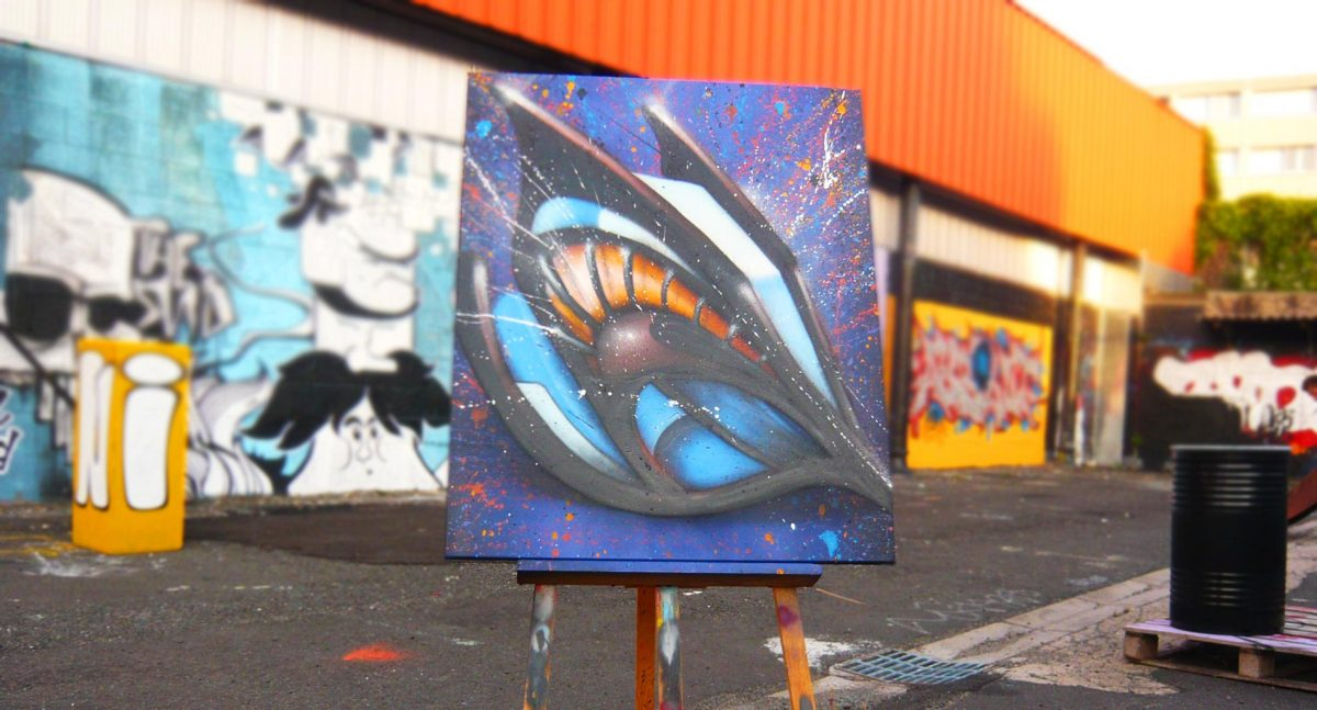Deft Tableau graffiti street art