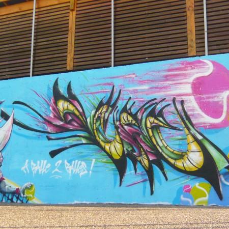 ENDtoEND - Mur de Tennis