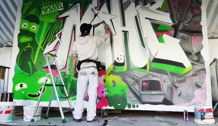EndToEnd Graffiti Ussel
