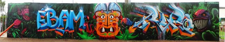 Fresque Festival Epipapu Graffiti