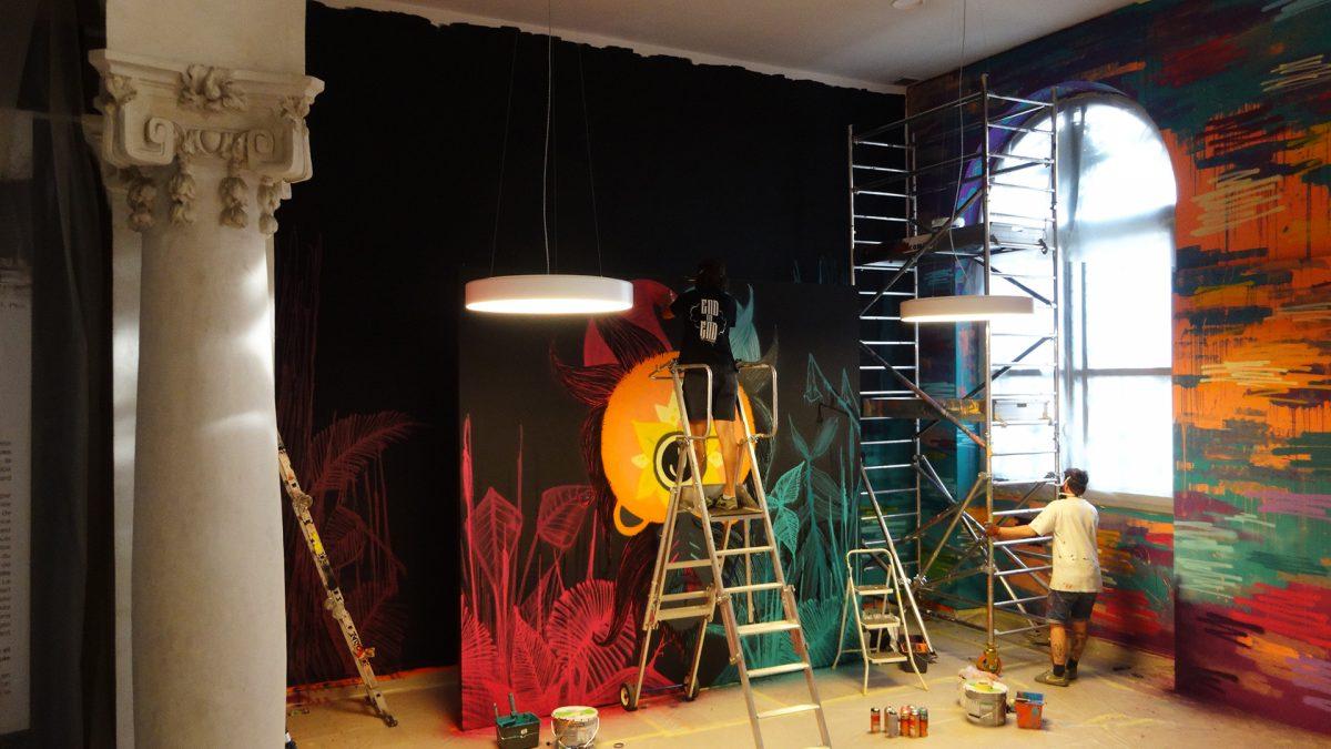 Musée Bargoin - Exposition Rebelles - Graffiti