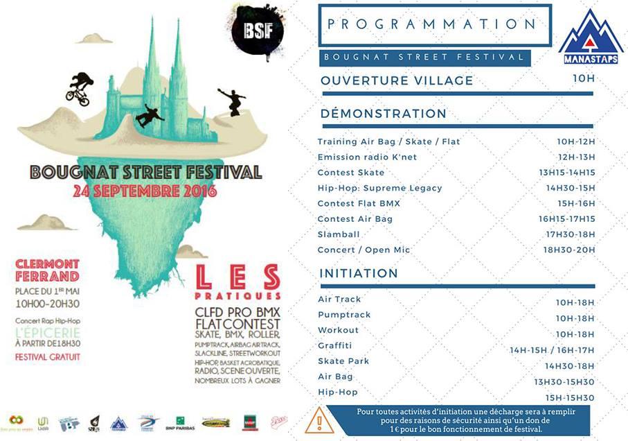 Programme bougnat street festival