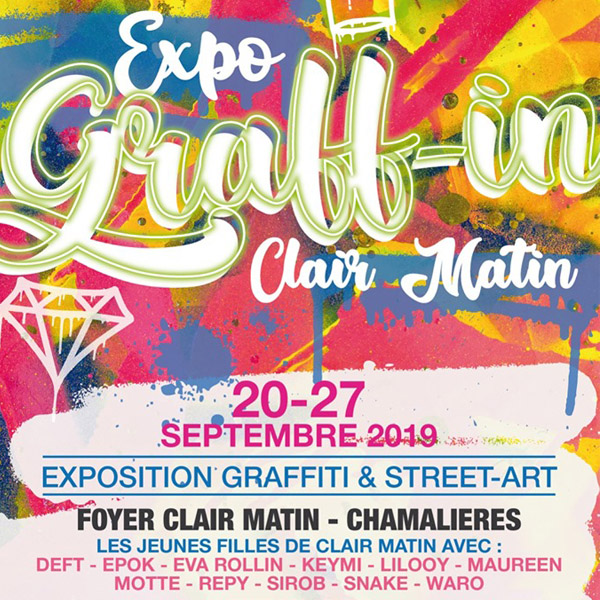 affiche exposition graff in
